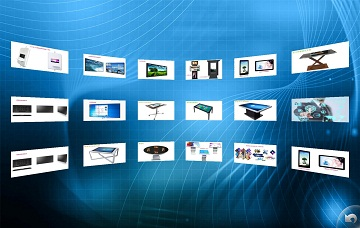 爱镭仕企业展示软件触控一体机企业展示视频