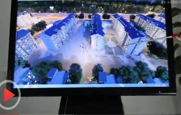爱镭仕触控系列:房地产应用视频展示(2)