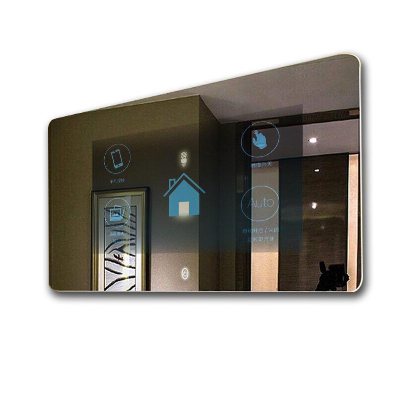 横屏壁挂式智能触摸镜面一体机